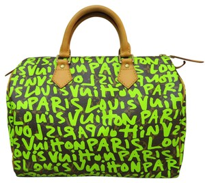 Louis Vuitton Speedy 30 Lv Tote in Graffiti