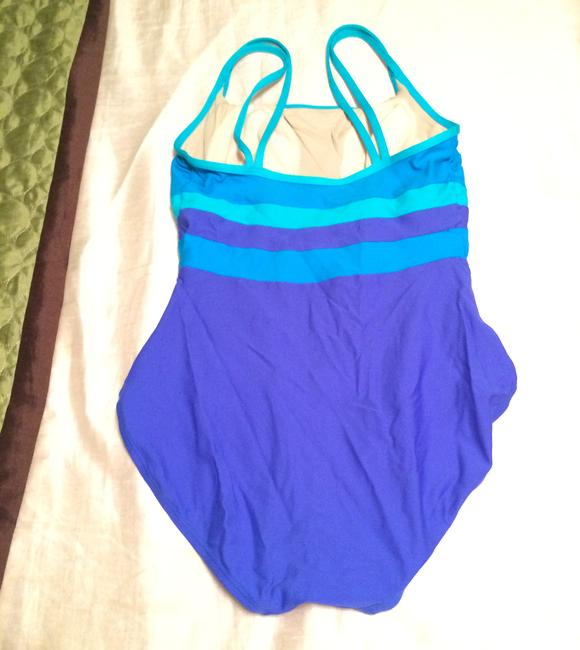 Charles Tyrwhitt Blue Ombre Colorblock TYR One-Piece Swimsuit