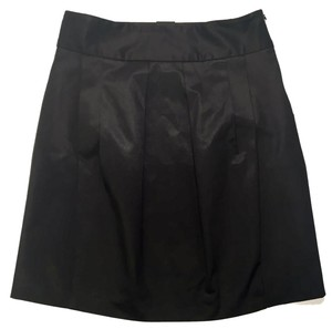 Zara Business Casual Pleated Night Out Date Night Mini Skirt WOMAN