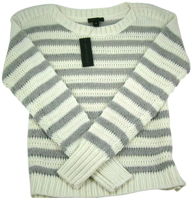 Preload https://img-static.tradesy.com/item/17638513/worthington-gray-and-ivory-x-large-sweaterpullover-size-16-xl-plus-0x-0-1-650-650.jpg