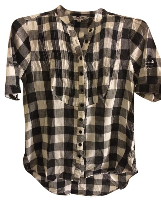 Other Button Down Shirt Black/White