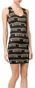 Moschino Logo Chain Mini Dress