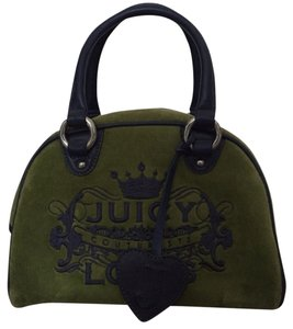 Juicy Couture Satchel in Deep Green