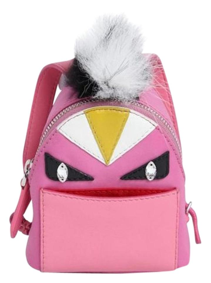 Fendi Mini Charm Pink Leather Backpack - Tradesy 11012b938c70b