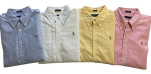 Ralph Lauren Shirts Lauren Polo Oxford Work Button Down Shirt
