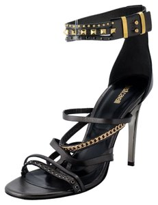 Just Cavalli Dark Gray Sandals