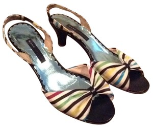 Marc Jacobs White black green yellow blue Sandals