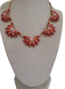 Brooks Brothers Flower Collar Necklace Necklace