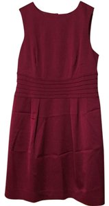 Banana Republic Dark Red Sexy Red Maroon Red Cocktail Dress