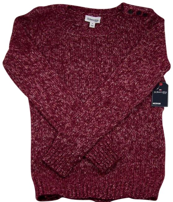 Preload https://img-static.tradesy.com/item/17640634/berry-large-sweaterpullover-size-12-l-0-1-650-650.jpg