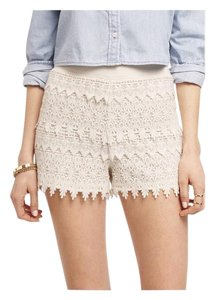 Express Mini/Short Shorts Soft Ivory