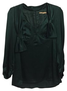 Nanette Lepore Top Dark emerald green