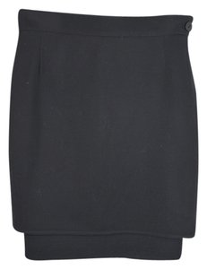 Italian Designer made Mini Skirt black