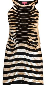 Betsey Johnson short dress Black and white on Tradesy