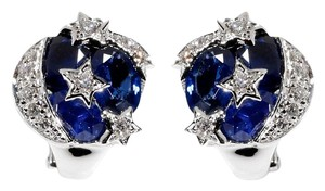 Chanel Chanel Comete Sapphire Diamond Earrings