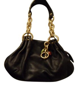 Juicy Couture Leather Gold Shoulder Bag