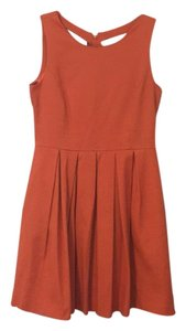 Taylor short dress Orange on Tradesy