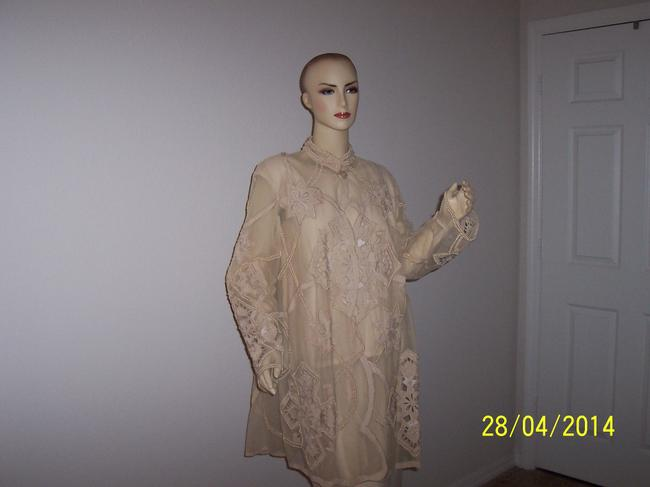 FRENCH COLLIZIONI Vintage Pearls Dress