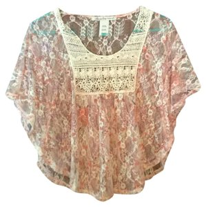 American Rag Top Pink/tan