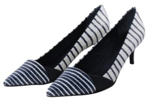 Tory Burch Bruna Navy/Ivory Pumps