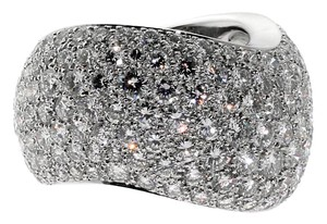 Cartier Cartier Pave Diamond Cocktail Ring