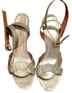 Faded Glory Soft Gold Wedges