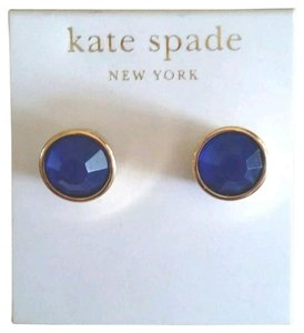 Kate Spade Kate Spade Gum Drop stud earrings Dark blue