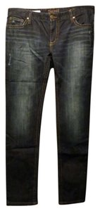 Degree Super Dark Wash Skinny Jeans-Dark Rinse