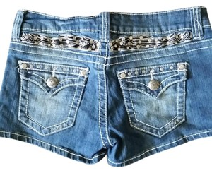 Von Zipper Misses Denim Mini/Short Shorts Vintage
