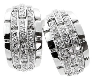 Cartier Cartier Diamond White Gold Earrings