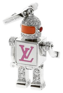 Louis Vuitton Louis Vuitton Diamond Spaceman Charm Pendant