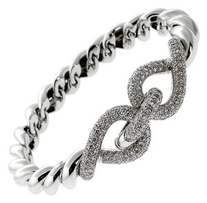 Hermès Hermes Diamond White Gold Bracelet