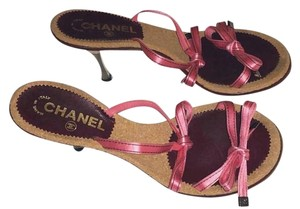 Chanel Heels Pumps Shoesz\ Pink Sandals