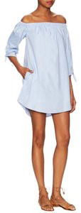 Lucca Couture short dress Powder Blue on Tradesy