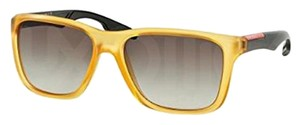 Prada Prada PS04OS-TWX0A7 Women's Orange Frame Sunglasses New In Box