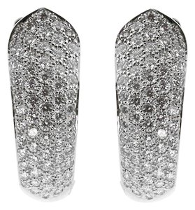 Cartier Cartier Ruban Diamond White Gold Earrings