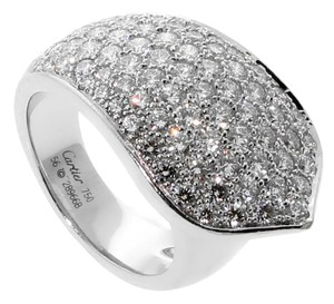 Cartier Cartier Ruban Diamond White Gold Ring