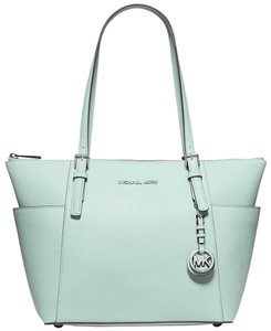 Michael Kors Jet Set Item Tote in Celadon silver