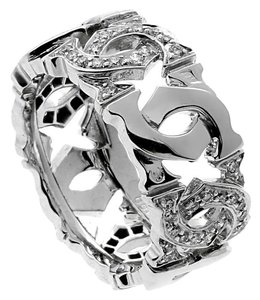 Cartier Cartier C Diamond White Gold Ring