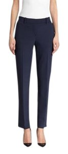 Theory Classic Straight Pants Navy