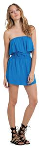 Elan short dress Blue on Tradesy