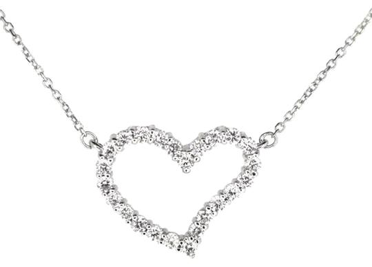 Preload https://img-static.tradesy.com/item/17646220/14k-white-gold-050ct-diamond-heart-pendant-27-grams-16-necklace-0-1-540-540.jpg