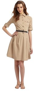 Tory Burch short dress Khaki Classic on Tradesy
