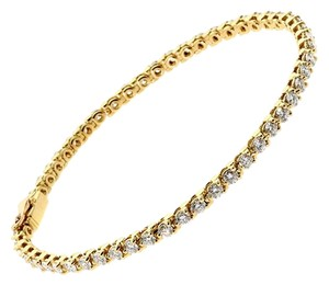Cartier Cartier Diamond Tennis Gold Bracelet