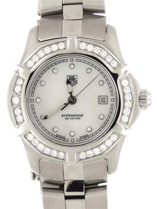 TAG Heuer Tag Heuer 2000 Exclusive Diamond MOP WN131J Stainless Steel 29mm Watch