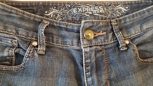 Express Stella Comfortable Boot Cut Jeans