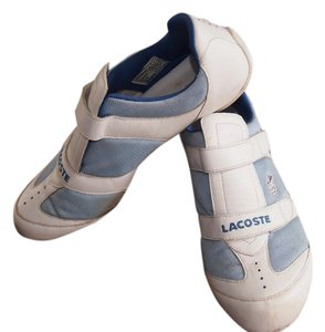 Lacoste White & Baby Blue Athletic