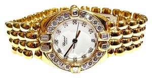 Chopard CHOPARD GSTAAD 18 KARAT GOLD DIAMOND WATCH REF 32/6094