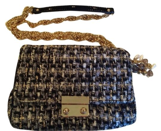 Preload https://item5.tradesy.com/images/jcrew-black-and-grey-tweed-with-gold-chain-strap-beads-cross-body-bag-1764699-0-0.jpg?width=440&height=440