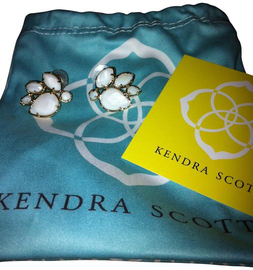 Preload https://img-static.tradesy.com/item/17647/kendra-scott-white-carmella-stud-earrings-ring-0-0-540-540.jpg